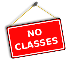 COVID-19 Update- Class Cancellation