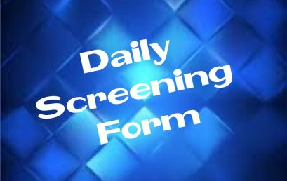 Daily Screening Form